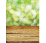Photo Backdrop Green Bokeh & Table Two Way