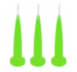 GREEN Bullet Candles - Bulk Box of 144
