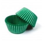 Green  STANDARD Cupcake Cases 40 pack