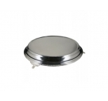 HIRE - Silver Plated Deluxe Round Cake Stand