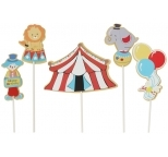 Circus Cake Toppers (5 pieces)