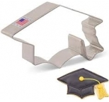 COOKIE CUTTER - Graduation Cap
