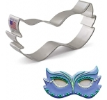 COOKIE CUTTER - Mardi Gras Mask 11cm x 6cm