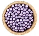 Sprinklz - Pearl  Violet Candy Beads 8mm (300g)