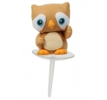 Claydough Owl 3D Cake Topper
