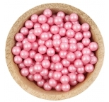 Sprinklz - Pearl  Pink Candy Beads 8mm (300g)