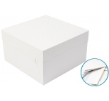 Cake Box - White 10 x 10 x 6  (pack of 5)