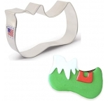 COOKIE CUTTER - Elf Shoe Cookie Cutter 4x2.5 (10x6.3cm)