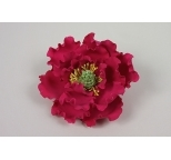 Gumpaste Flower Single  - Fuchsia Peony - PICK UP ONLY