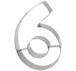 COOKIE CUTTER - Number 6 OR 9