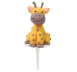 Claydough Giraffe 3D Cake Topper