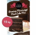 Premium Mississippi Mud Cake Mix by Bakels 15kg