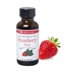 1 Ounce (29ml)  Lorann - STRAWBERRY Flavour