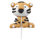 Claydough Tiger  3D Cake Topper