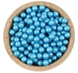 Sprinklz - Pearl Blue Candy Beads 8mm (300g)