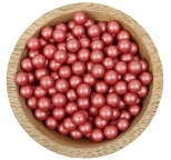 Sprinklz - Pearl Red Candy Beads 8mm (300g)