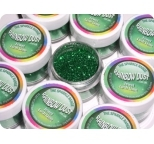 Jewel Lush Lime- dust and glitters