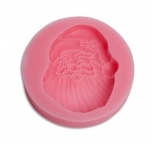 Jolly Santa Face Silicone Mould