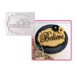 Katy Sue Mini Plaque - Believe