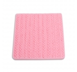 Knitting Pattern Silicone Impression Mould