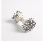 Medium Diamond Silver  Stamens (Pk144)