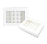 MINI Cupcake Box - with insert & window (holds 24)