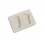 Pair of Baby Feet Silicone Mould