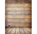 Photo Backdrop Warm Wood with floor