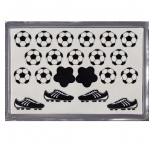 Pre-Cut Edible Plaque Cut Outs - SOCCER