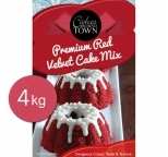 Premium Red Velvet Cake Mix by Bakels 4kg