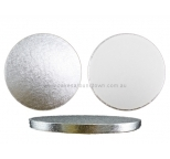 PREMIUM Silver Drum Boards - 6 inch Round
