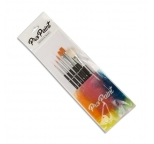 Pro Paint Craft Brushes Set of 6