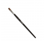 Pro Paint Superior Kolinsky Flat Tapered Brush - No 6