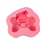 Puppy with Bone Silicone Mould