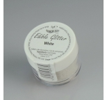 Rainbowdust Edible Glitter - WHITE - DISCONTINUED