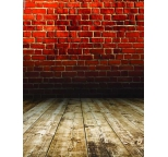 Photo Backdrop Red Brick & Floor Two Way