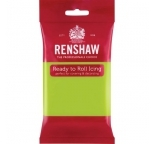 Renshaw LIME GREEN Fondant Icing 250g - DISCONTINUED