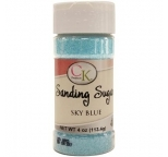 SANDING SUGAR - Sky Blue - 113g Bottle