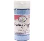 SANDING SUGAR - Soft Blue - 113g Bottle