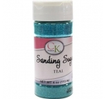 SANDING SUGAR - Teal - 113g Bottle