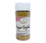SHIMMERING GOLD CRYSTALS - 113g Bottle