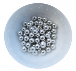 Silver Cachous Pearls 10mm 50g