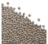 Silver Cachous Pearls 4mm 50g
