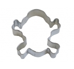 Skull & Cross Bones Cookie Cutter 3.5