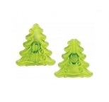 Small 3D Christmas Tree Cutter Set of 2 by JEM