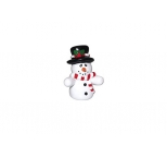 Snowman Figurine - Perfect for Christmas Cakes - 50mm