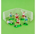 Soccer Team Cake Decorations - Plastic