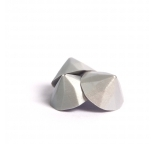 Soft Edible Silver Studs - 0.9cm - DISCONTINUED
