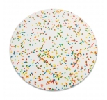 SPRINKLE Pattern MDF cake board - 14 inch ROUND