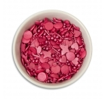 Sprinkletti - Deep Pink Sprinkles 100g net - DISCONTINUED